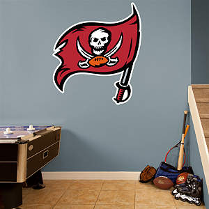 Tampa Bay Buccaneers Flag Logo Fathead Wall Decal